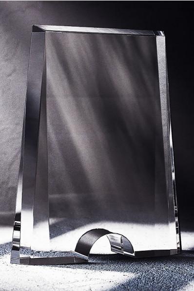 Bryła plakieta szklana