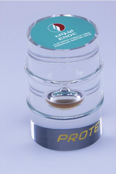 Beczka akrylowa z olejem