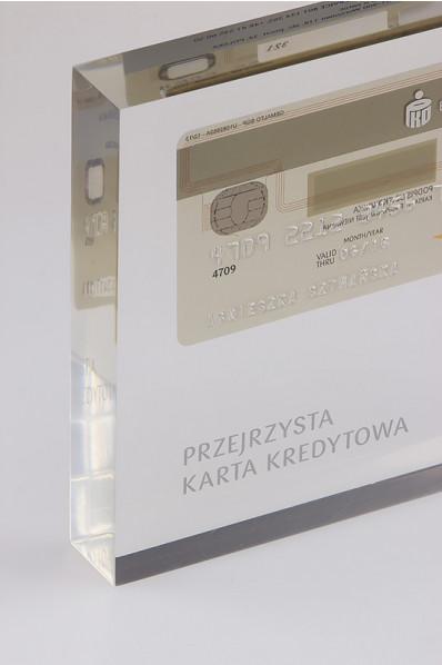 Karta PKO w akrylu