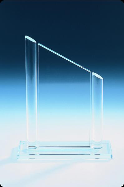 Puchar plakiety szklanej