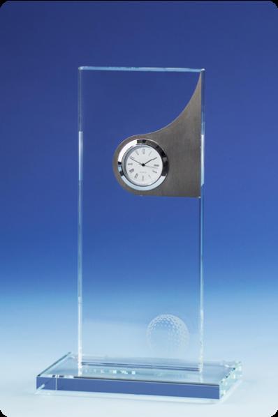 Zegar plakietka z elementem dekoracyjnym