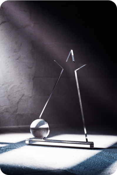Gwiazda z kulą szklaną