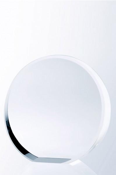 Kryształowa okrągła plakieta