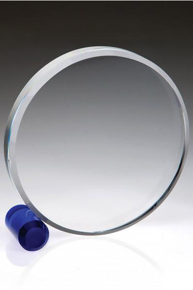 Krążek z grubego szkła