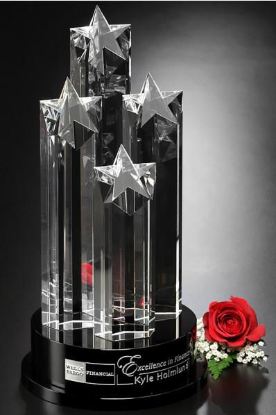 Statuetka - cztery gwiazdy