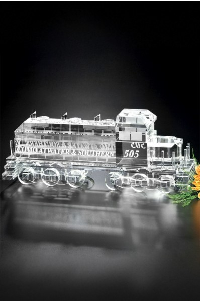 Szklana lokomotywa