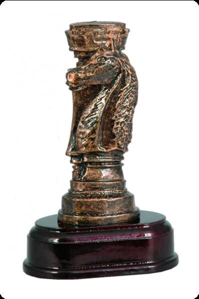 Wieża i koń szachowy