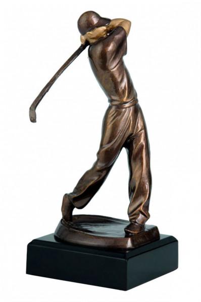 Sylwetka golfisty
