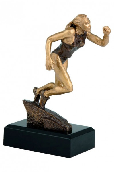 "Statuetka ""kobieta biegająca"""