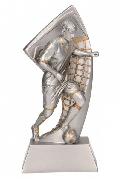 Biegnący piłkarz
