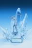 Statuetka szklana lodowa