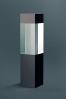 Prostopadłościan z czarnym szkłem