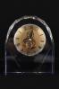 Szklany mechaniczny zegar