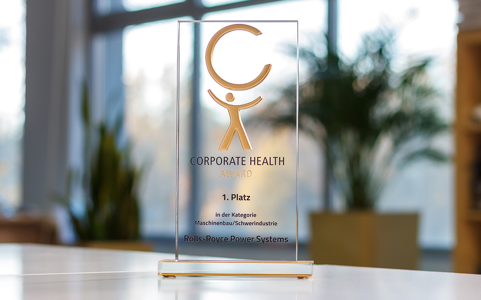 Corporate Health Award